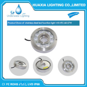 Factory Price 9W DC24V RGB Underwater LED Lights for Fountain pictures & photos