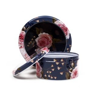Window Tins Round Metal Boxes OEM Factory pictures & photos