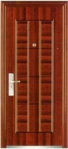 Waterproof Noiselessly Anti-Theft Steel Door (iron door) pictures & photos