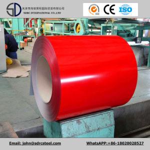 Dx51d Grade Z80 0.45mm PPGI Prepainted Galvanized Steel Coil pictures & photos