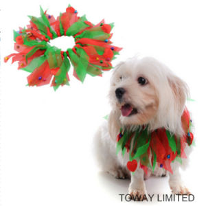 Christmas Holloween Dog Products Holiday Hair Scarf Pet Accessories pictures & photos