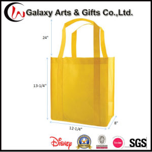 Cheap Recyclable 100GM Non Woven Shopping Tote Bag/Grocery Bag pictures & photos