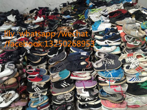 Sport Shoes Used Sport Shoes 25kgs Per Bags for Sale pictures & photos