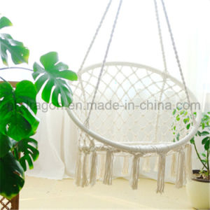 White Color Deco Garden Hammock Chair with Tassles pictures & photos