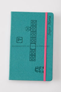 Supper Mario Cute Cover PU Leather Moleskine Notebook pictures & photos