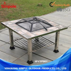 Outdoor Camping Grill Stainless Steel Barbeque Side Table BBQ pictures & photos