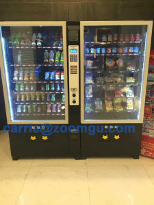 Combo Vending Machine for Drink/Snack Zg-10g+10RS pictures & photos