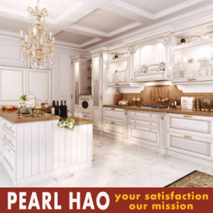America Style Customize Solid Wood Kitchen Cabinets pictures & photos
