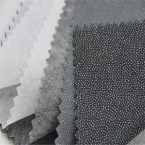 Wholesale Factory Polyester Non Woven Fusible Interlining pictures & photos