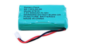 NiMH 3.6V 600mAh Rechargeable Cordless Telephone Battery pictures & photos