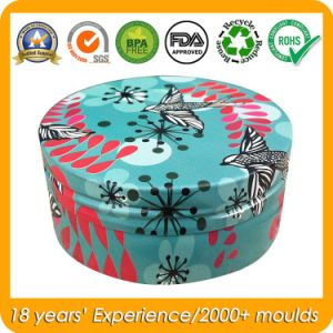 Metal Can Round Mini Tin for Skin Care Cream pictures & photos