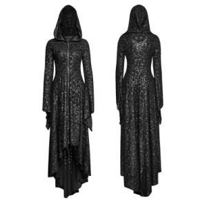 Q-308 Gothic Decadent Threadbare Knitted Christmas Hooded Dress pictures & photos