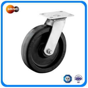 Heavy Duty 8 Inch Swivel Plate Casters pictures & photos