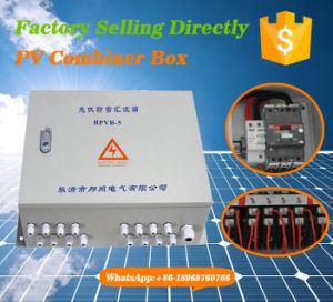 DC Solar Switch Box with Anti-Thunder Protect for Solar System pictures & photos
