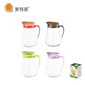 Metka Household Glass Oil Vinegar Pot for kitchen Liquid Storage Bottle 450ml pictures & photos