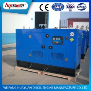 Weifang 28kw Silent Low Noise Standby Generator Sets pictures & photos