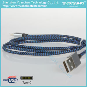 Nylon Braided Type C Cable for Mac pictures & photos