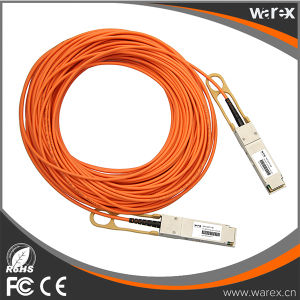 QSFP-H40G-AOC10M Compatible 40G QSFP+ Active Optical Cable pictures & photos