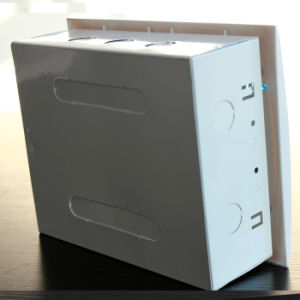 Waterproof ABS Plastic Mini Distribution Box Circuit Breaker Box 6 Ways pictures & photos