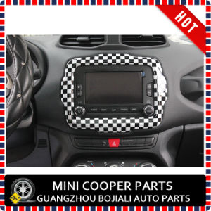 Auto Accessory ABS Material Checkered Style Central Trim for Renegade Model (1PC/SET) pictures & photos
