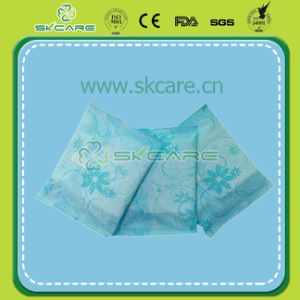 Blue PE Wrapper Sanitary Napkin with Anion Adl pictures & photos
