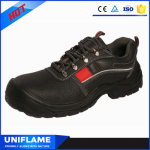 Stylish Industrial Leather Safety Shoes Work Footwear Ufa073 pictures & photos