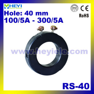 Protection Current Transformer RS-40 Toroidal Current Transformer with Inner Hole 40mm 100/5A to 300/5A CT Manufacturer pictures & photos
