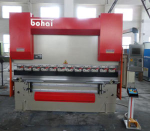 We67k Full CNC Press Brake Psk 63t/2500 with Delem Da65W Controller pictures & photos