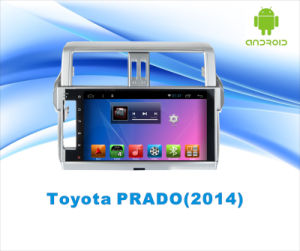 Android System GPS Navigation Car DVD for Toyota Prado 10.1 Inch Touch Screen with WiFi/TV/USB pictures & photos