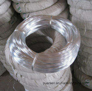 Galvanized Wire Best Price 0.7mm 0.9mm Galvanized Iron Wire (factory) pictures & photos