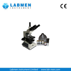 Trinocular Phase Contrast Microscope with Halogen Light pictures & photos