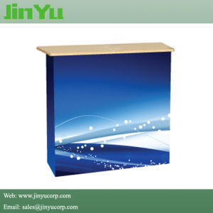 Pop up Fabric Display Portable Counter pictures & photos