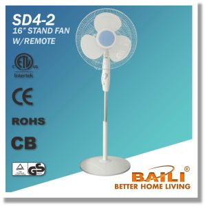"""Popular 16"""" Oscillating Stand Fan with Remote Control, 7.5 Hours Timer pictures & photos"""