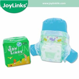 Good Quality PP Tape Disposable Baby Diaper pictures & photos