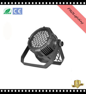 IP65 Outdoor Waterproof LED PAR Can 48PCS 3W Rgbwy+UV 6-in-1 LEDs for Large Concerts, TV Studio