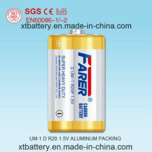 1.5V Farer Super Heavy Duty Carbon Battery (R20 UM1, D) pictures & photos