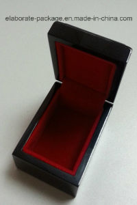 Lacquer Jewelry Black Wooden Box Wholesale Box pictures & photos