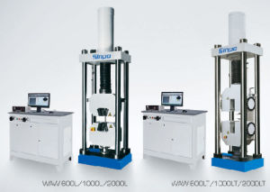 Microcomputer control electro-hydraulic servo universal testing machine of WAW-L series pictures & photos