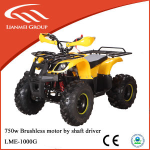 1000W Adult Electric 4X4 ATV for Sale Cheap for Adults with Shaft Drive Lme-1000g pictures & photos