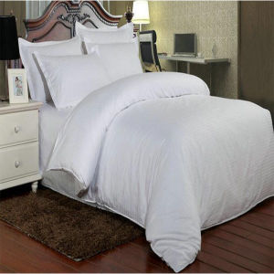 White Hotel Collection Classic Stripe Quilted Set (DPF1067) pictures & photos