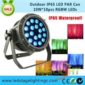 New Wedding Decoration LED PAR Light RGBW 18PCS*10W for Outdoor Stage Light pictures & photos