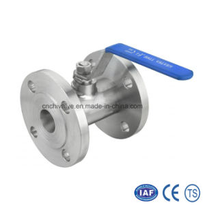 Stainless Casting 1PC Flange Ball Valve pictures & photos