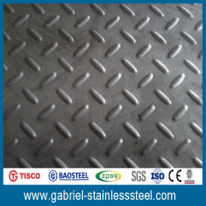 AISI 304 Stainless Steel Chequer Plate pictures & photos