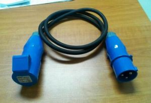 16A C Form Cable with IP44 Connector pictures & photos