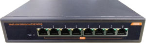 8 Port Poe Gigabit Ethernet Network Switch 802.3af pictures & photos