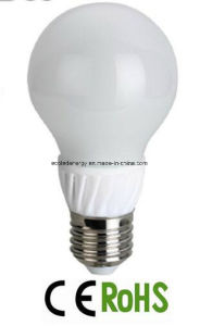 Conductive Plastic 6W A55 E27 SMD LED Bulb Lamp pictures & photos