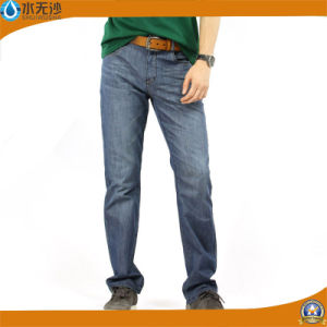 New Style Fashion Jeans Men Skinny Jeans Blue Denim Trousers pictures & photos
