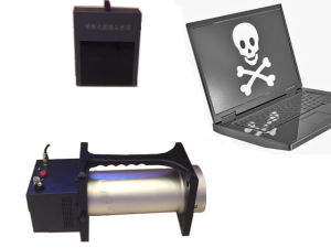 Police use Portable X ray Baggage Scanner SPX3025 with Industrial CCD camera pictures & photos