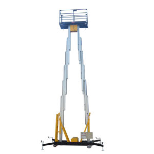 6m Mobile Hydraulic Aerial Work Platform for Installation and Maintenance pictures & photos