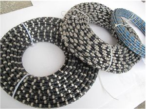 High Efficiency Stone Quarry Sawing Diamond Wire and Diamond Wire Saw for Diamond Wire Saw Machine with Line Speed 20-30/S pictures & photos